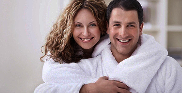 Perfect bathrobes for romantic couples
