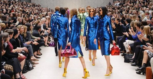 Burberry dazzles its audience with bright colours in London Fashion Week