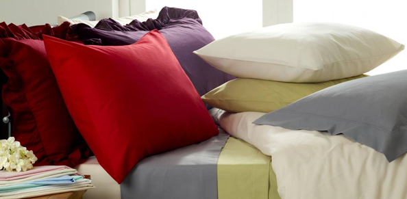 Romantic bed linens