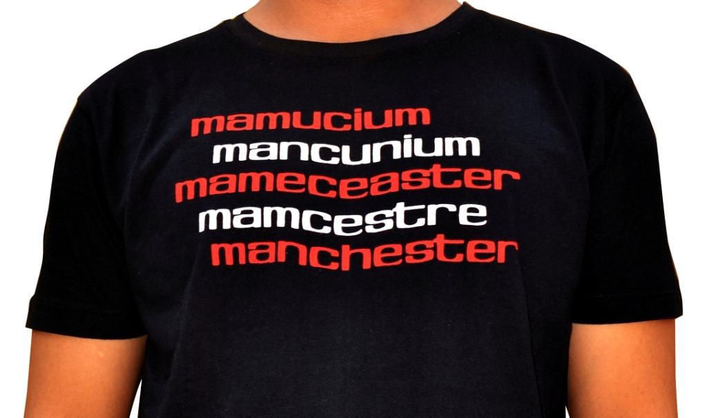 Shirt endorsing historic fact of the Northwest England