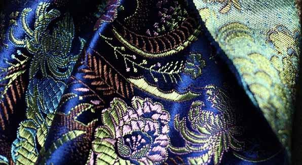 Damask Fabric is making a comeback