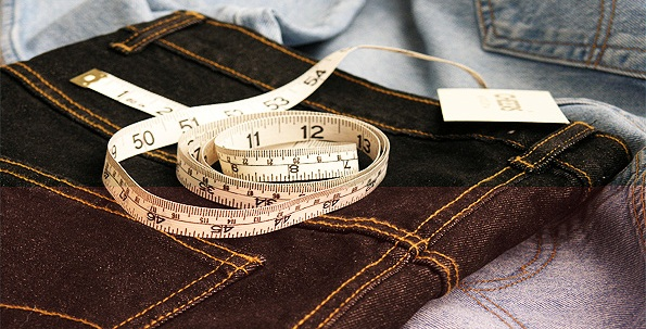 Measuring your waist for Denim Jean