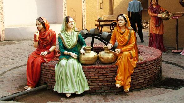 Ethnic Punjabi Dresses, it's a visual treat