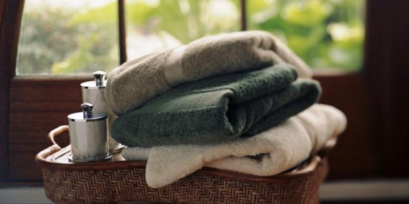 Towels come in all colours, make your pick