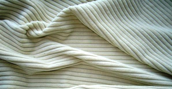 Cotton Corduroy fabric, some call it velvet with the ridges