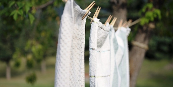 Drying Towels after use, dry right after use